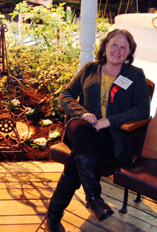 Jill Nunemaker at the 2012 NW Flower and Garden Show
