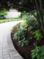 Landscape design for Woodway residence